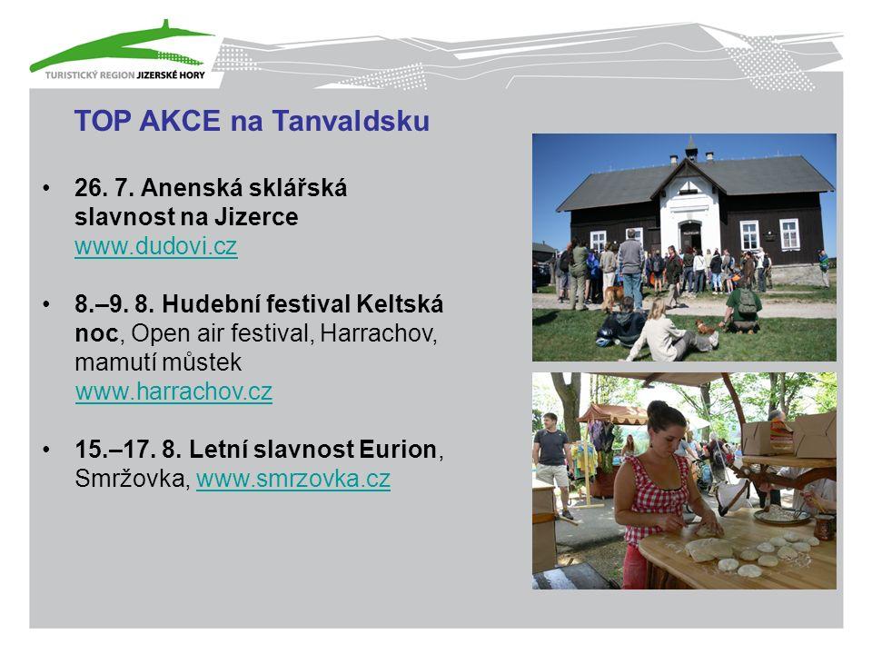 TOP AKCE na Tanvaldsku 26. 7.