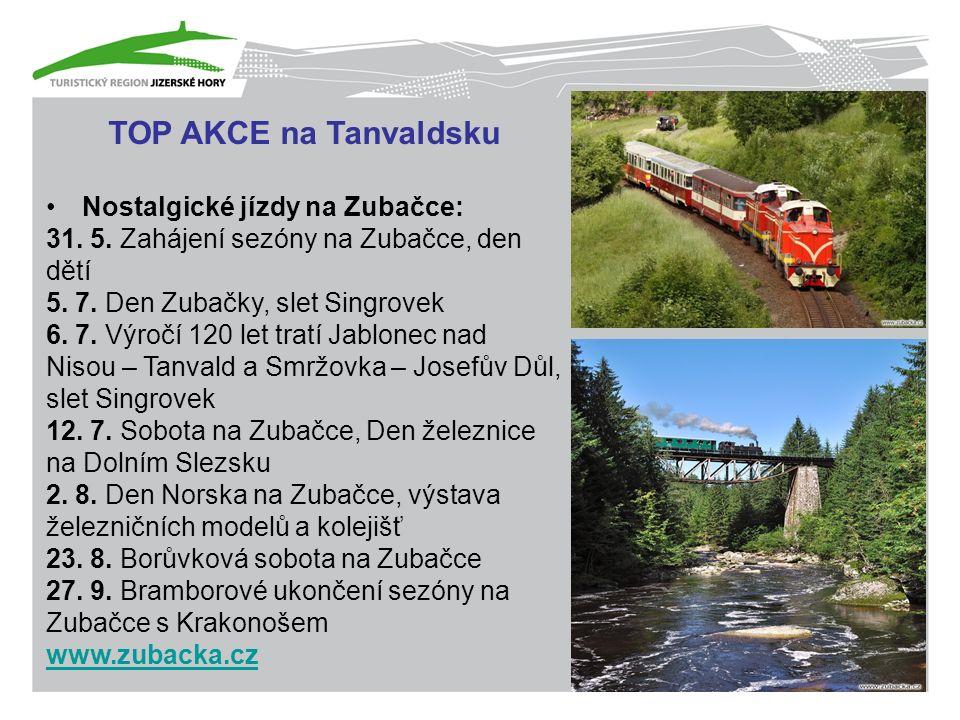 TOP AKCE na Tanvaldsku Nostalgické jízdy na Zubačce: 31.