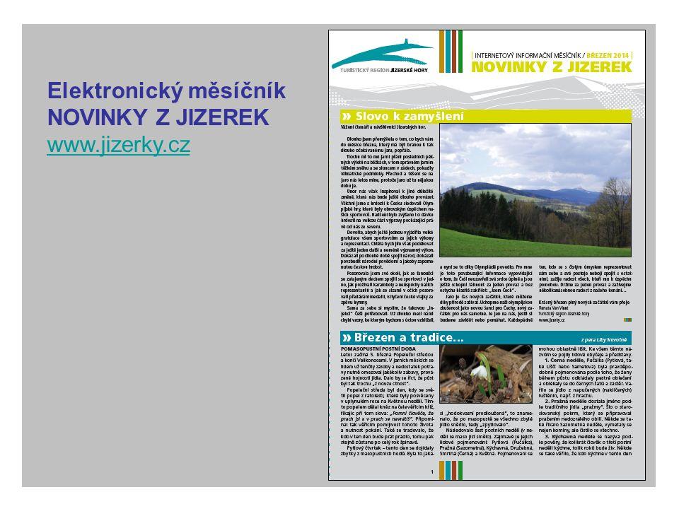 Elektronický měsíčník NOVINKY Z JIZEREK www.jizerky.cz