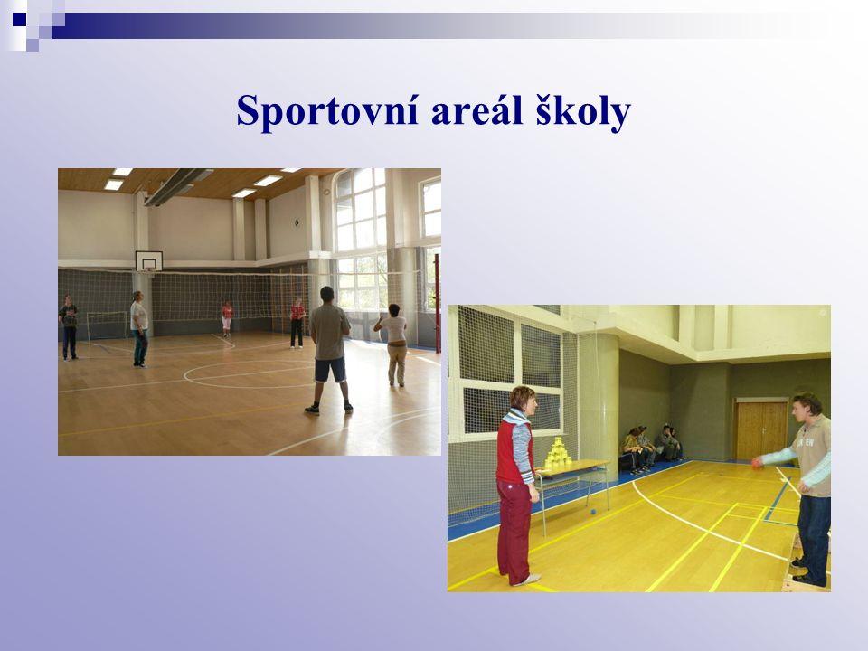 Sportovní areál školy