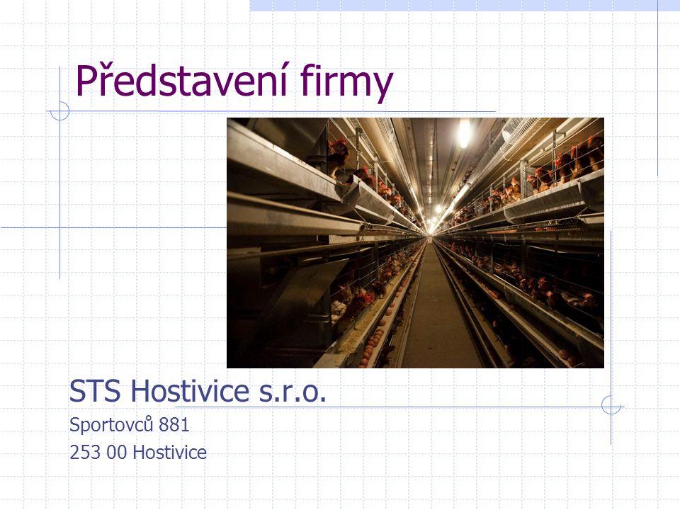 Představení firmy STS Hostivice s.r.o. Sportovců 881 253 00 Hostivice
