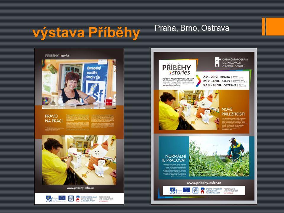výstava Příběhy Praha, Brno, Ostrava