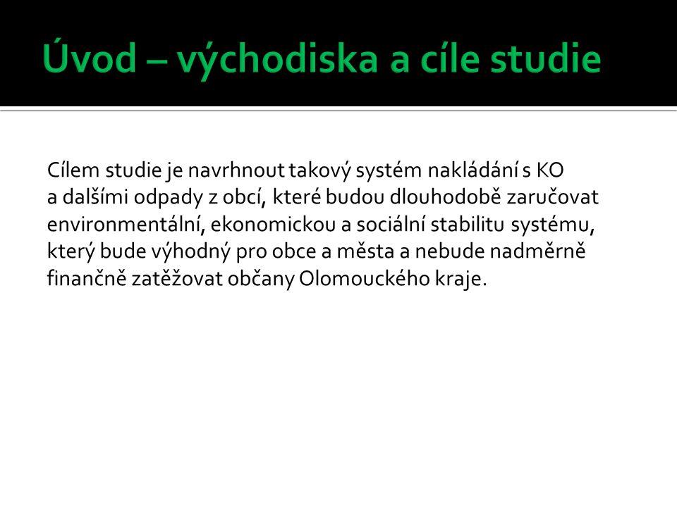Osnova studie proveditelnosti je koncipována na 2 základní části, tj.