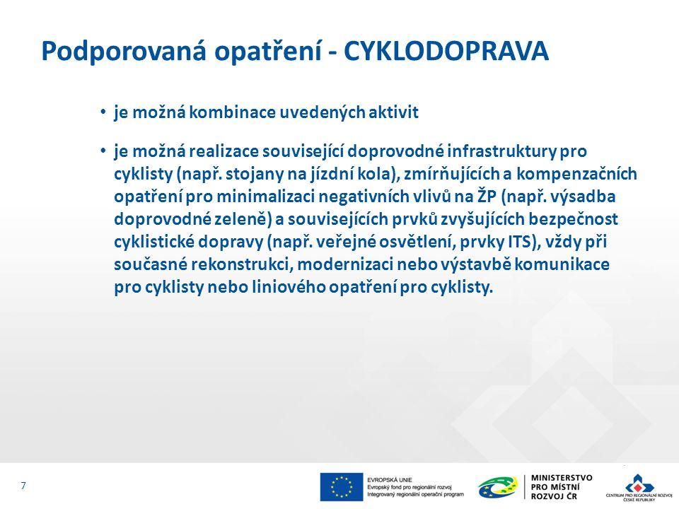 8.Položkový rozpočet stavby V rozpočtovém formátu *.XC4 9.Studie proveditelnosti Příloha č.