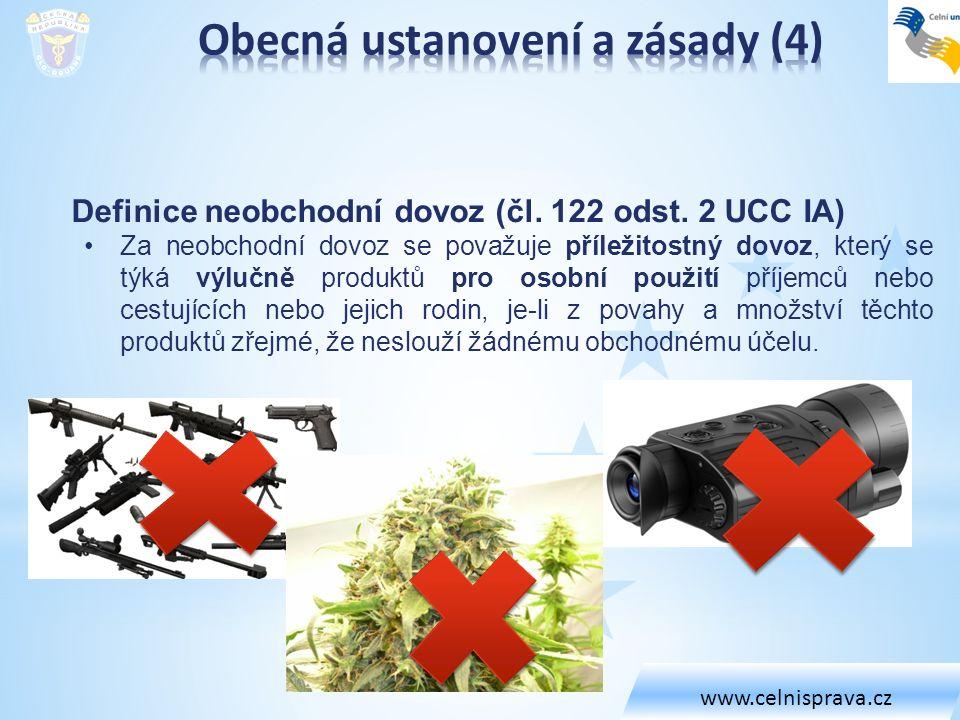 Vyřízení režimu (Přechodná ustanovení (Hl.IX UCC IA)) Čl.