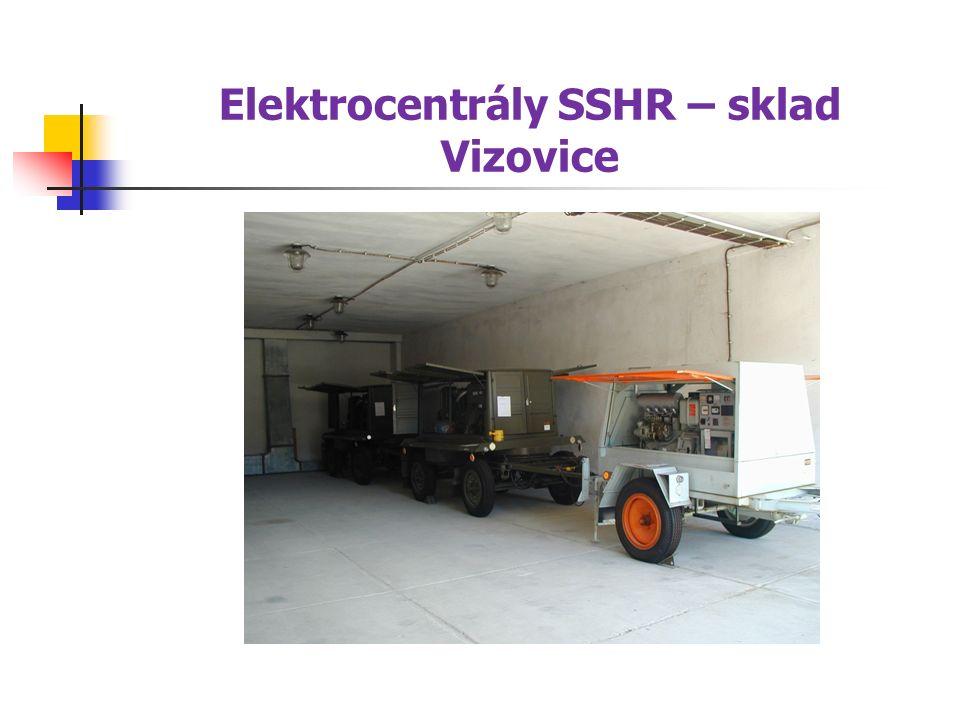 Elektrocentrály SSHR – sklad Vizovice