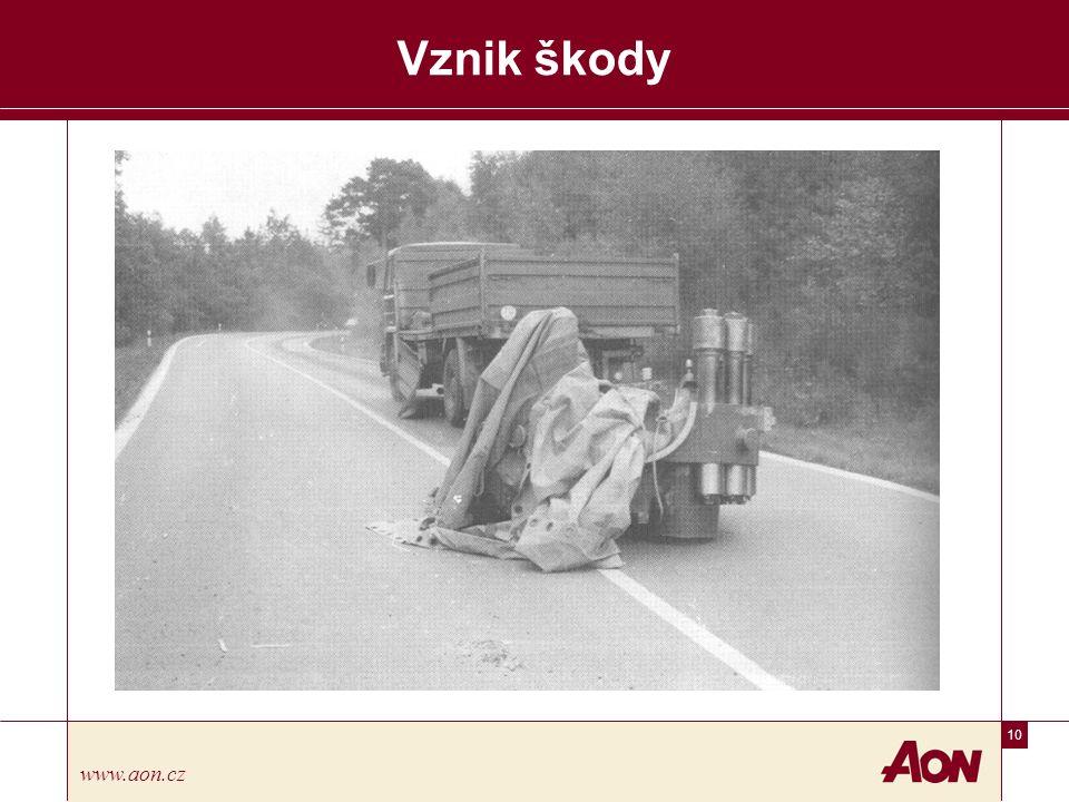 10 www.aon.cz Vznik škody