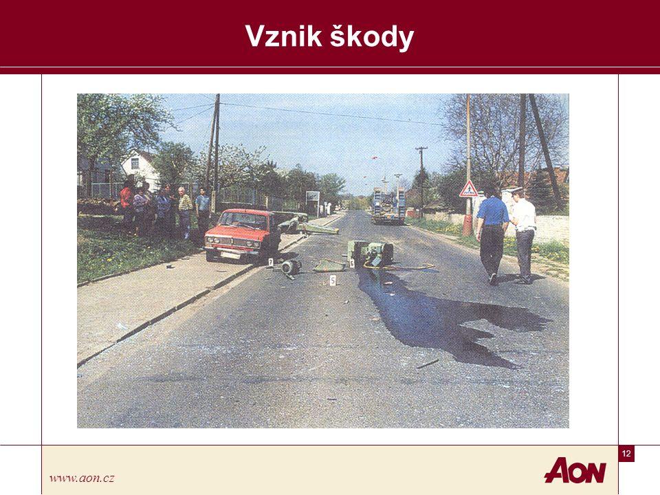 12 www.aon.cz Vznik škody