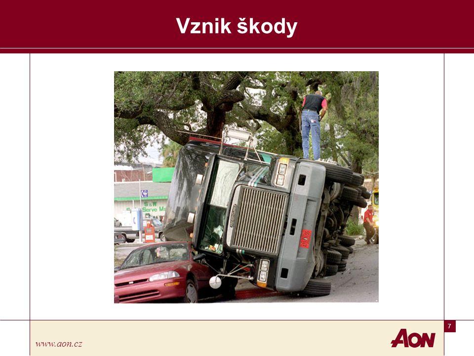 18 www.aon.cz Vznik škody