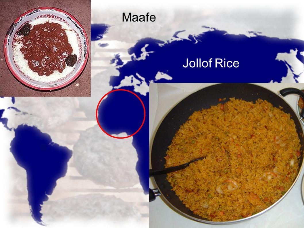 Maafe Jollof Rice