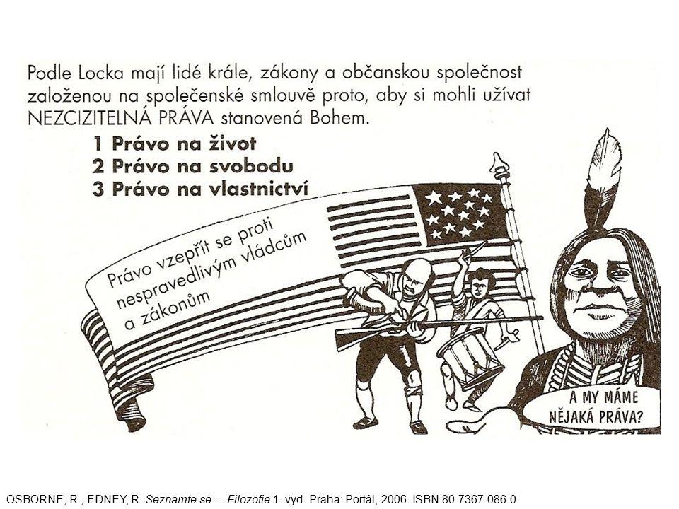 OSBORNE, R., EDNEY, R. Seznamte se... Filozofie.1. vyd. Praha: Portál, 2006. ISBN 80-7367-086-0