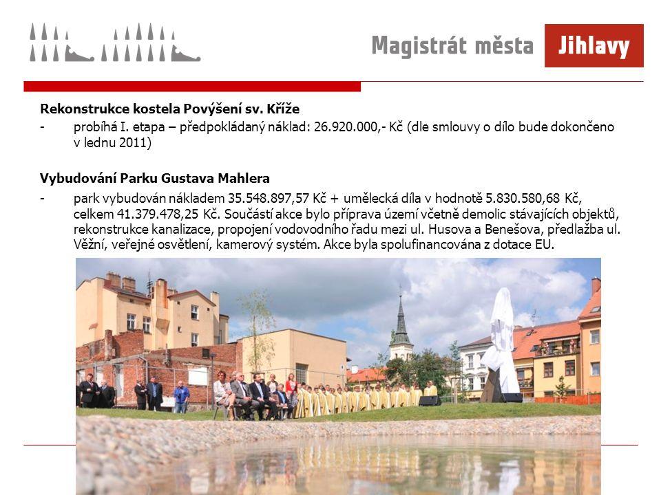 Rekonstrukce kostela Povýšení sv. Kříže -probíhá I.