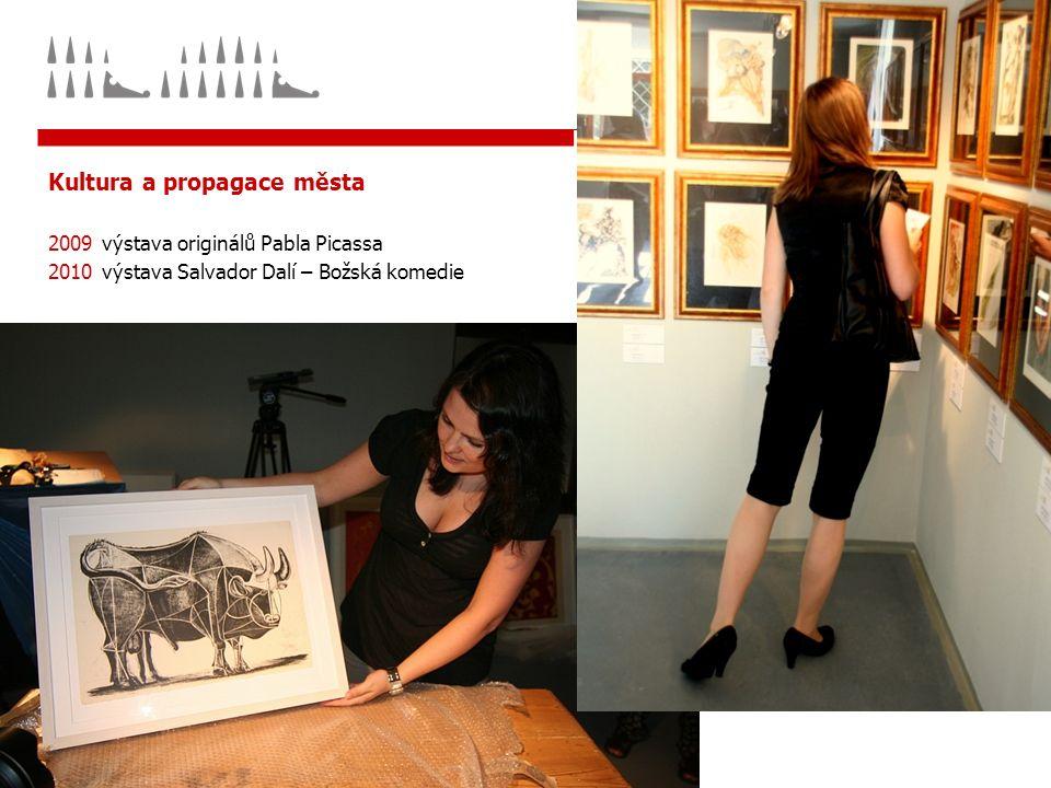 Kultura a propagace města 2009výstava originálů Pabla Picassa 2010výstava Salvador Dalí – Božská komedie