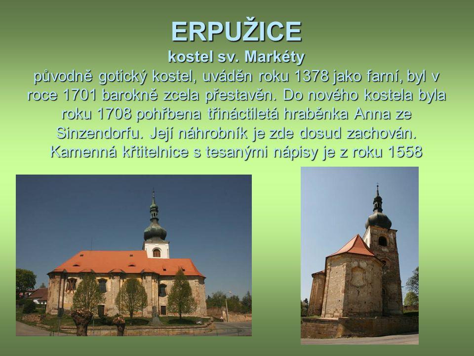 ERPUŽICE kostel sv.