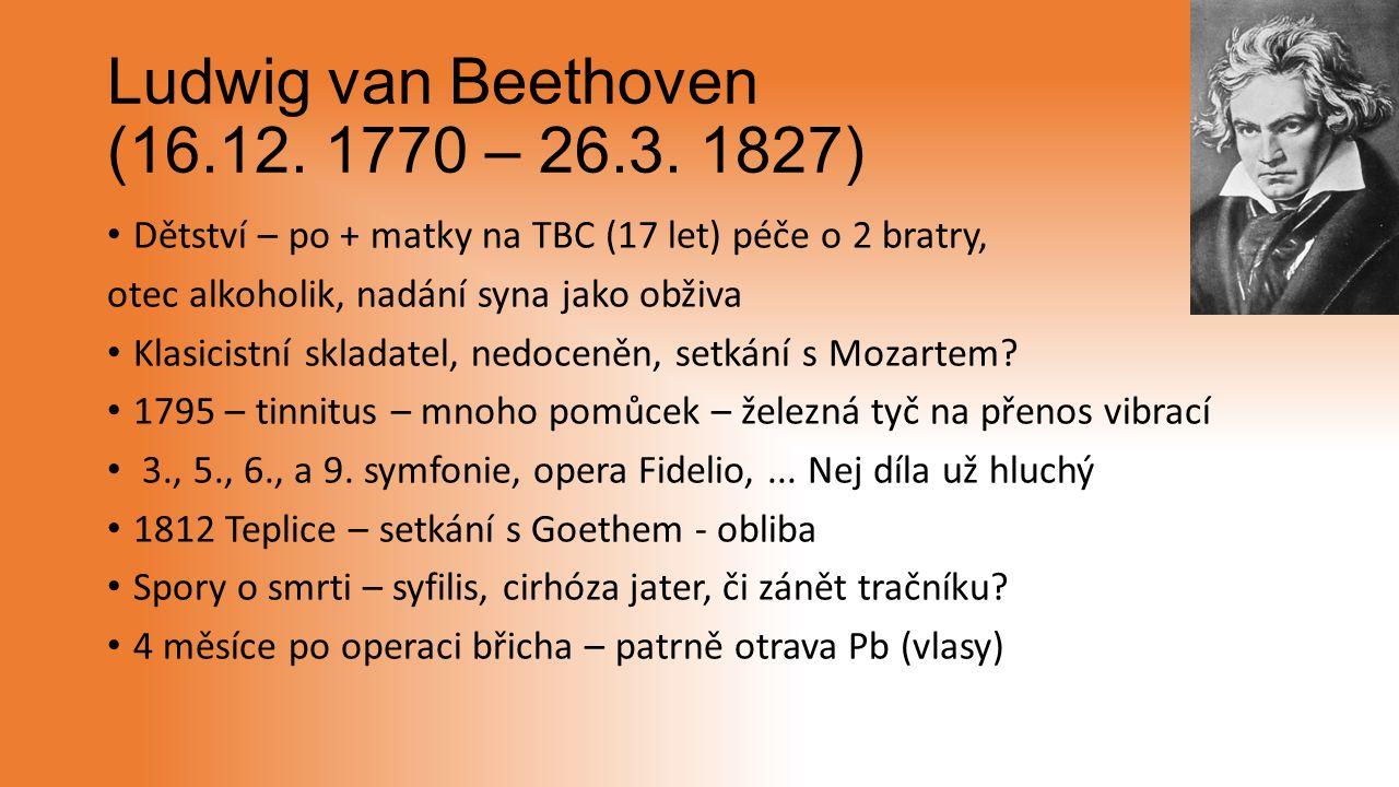 Ludwig van Beethoven (16.12. 1770 – 26.3.