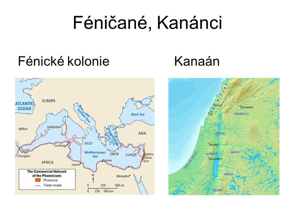 Féničané, Kanánci Fénické kolonie Kanaán