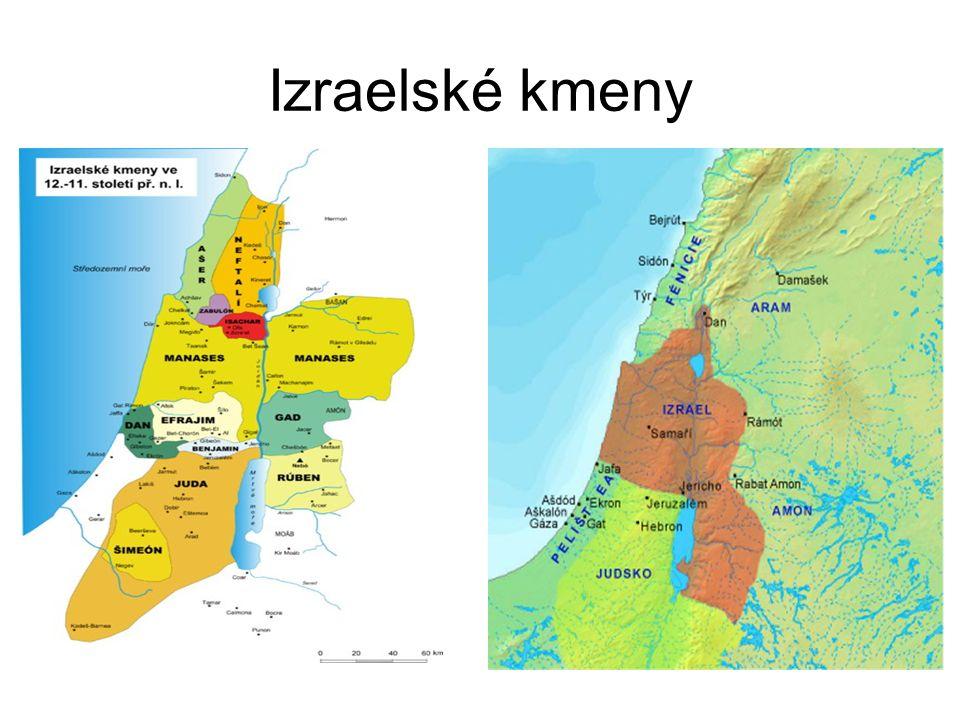 Izraelské kmeny