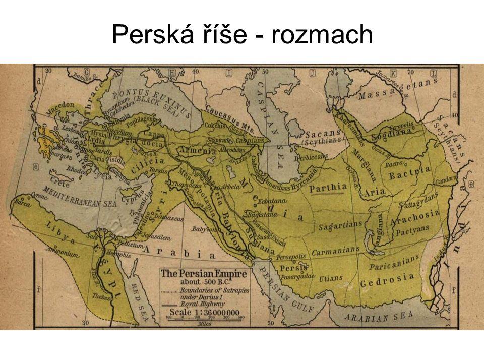 Perská říše - rozmach