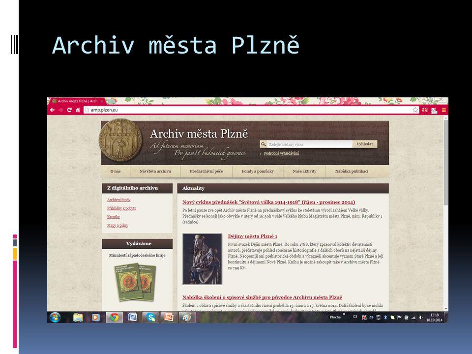 Archiv města Plzně