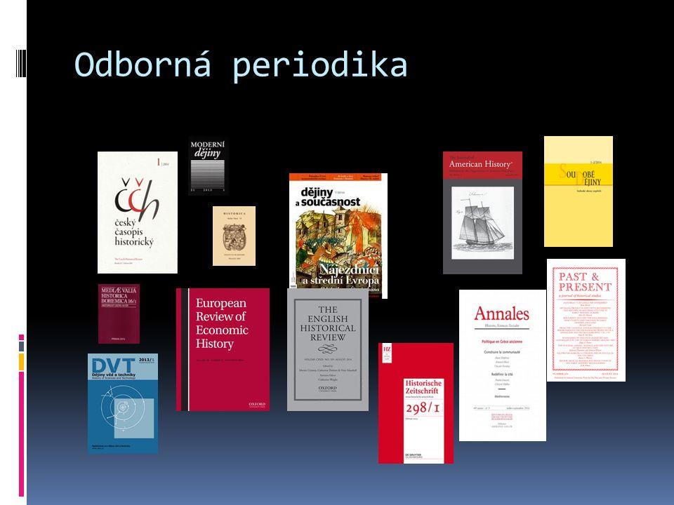 Odborná periodika