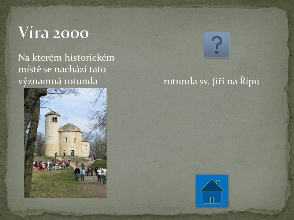 Na kterém historickém místě se nachází tato významná rotunda rotunda sv. Jiří na Řípu