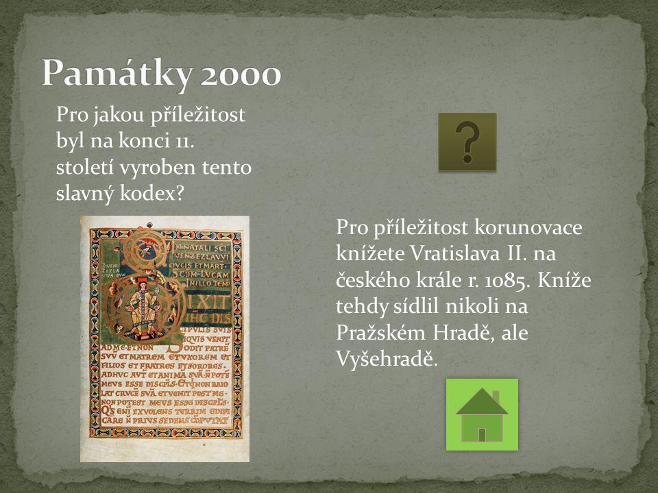 Pro jakou příležitost byl na konci 11. století vyroben tento slavný kodex.