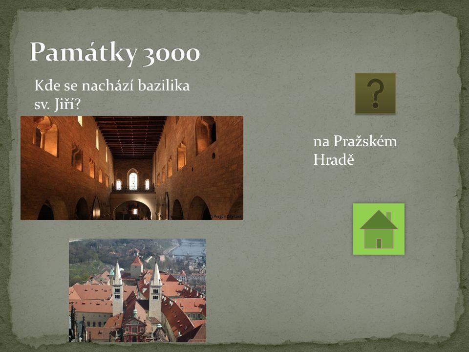 Kde se nachází bazilika sv. Jiří na Pražském Hradě