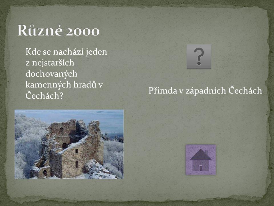 Kde se nachází jeden z nejstarších dochovaných kamenných hradů v Čechách.