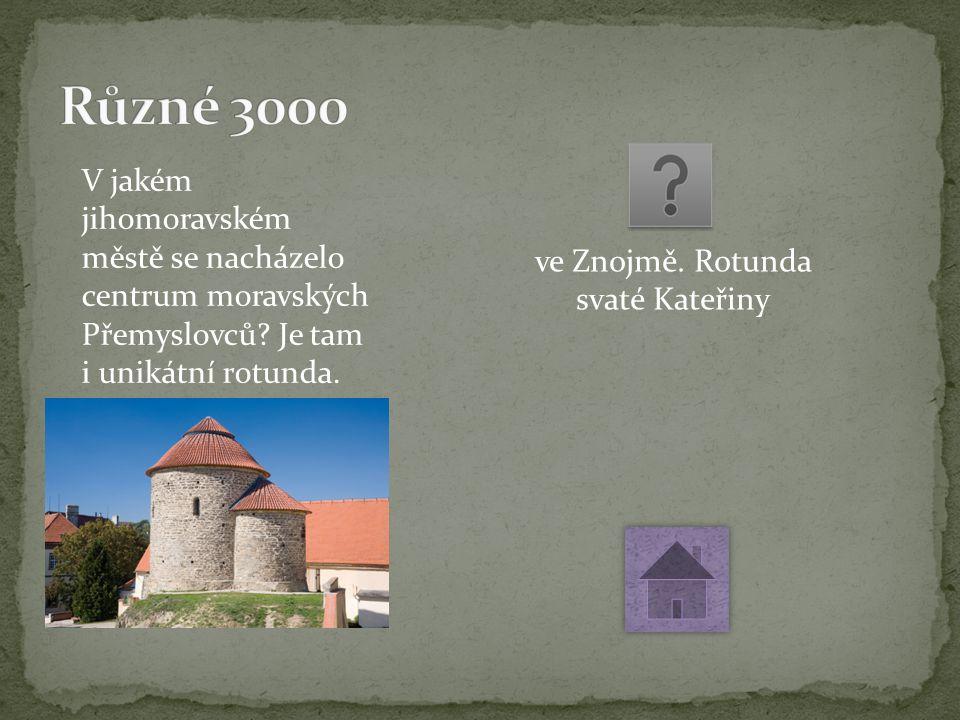 V jakém jihomoravském městě se nacházelo centrum moravských Přemyslovců.