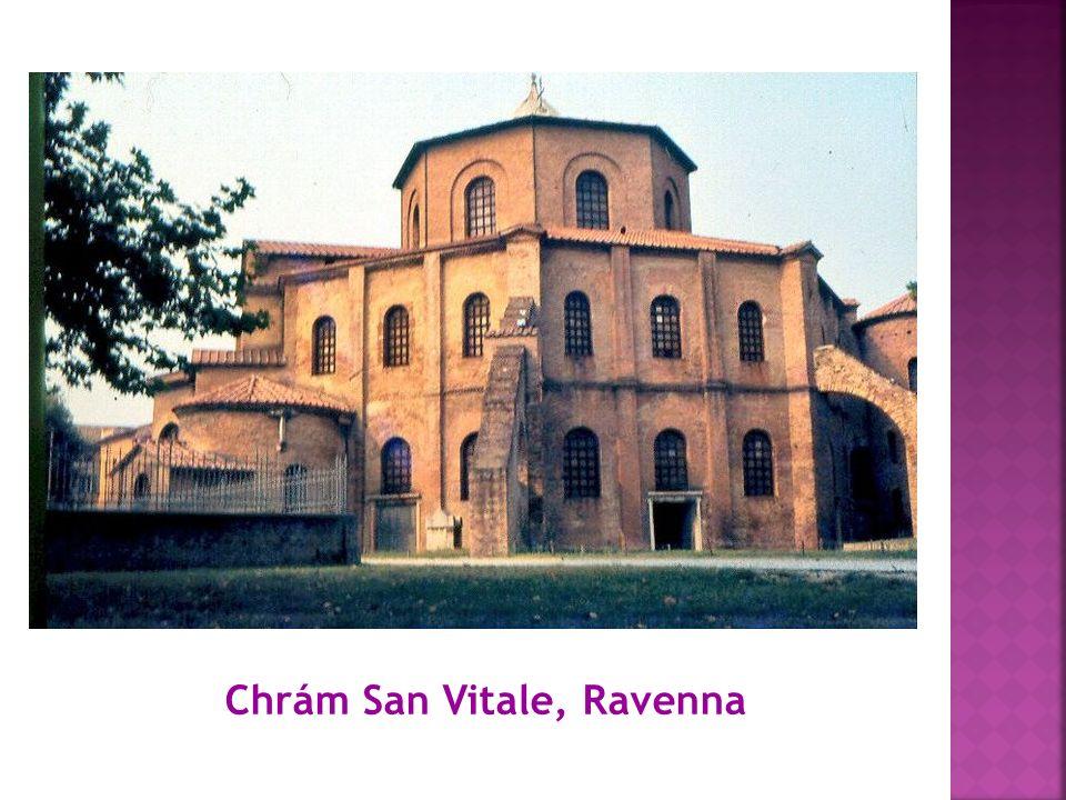 Chrám San Vitale, Ravenna