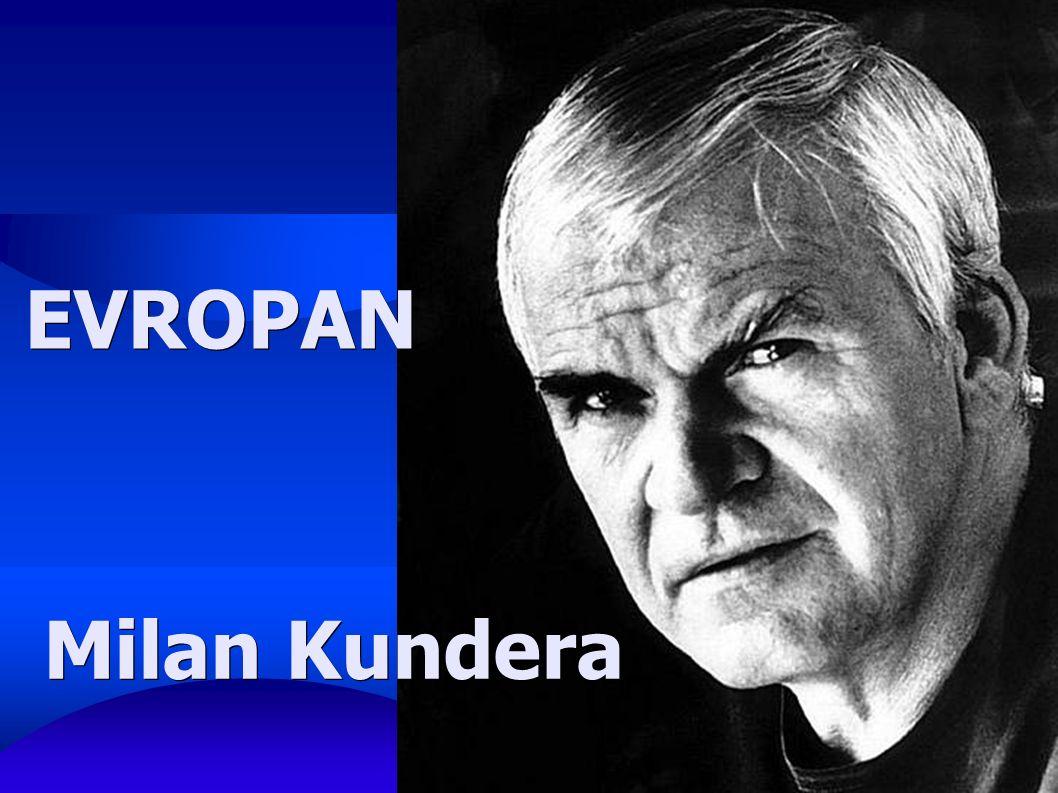 Milan Kundera EVROPAN