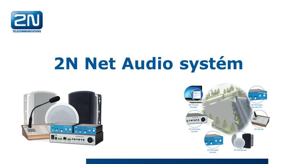 2N Net Audio systém