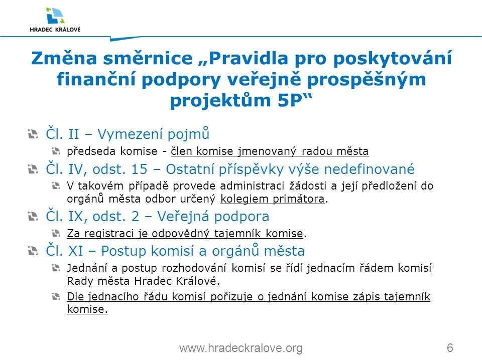 6www.hradeckralove.org Čl.
