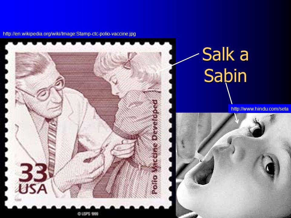 Salk a Sabin http://www.hindu.com/seta http://en.wikipedia.org/wiki/Image:Stamp-ctc-polio-vaccine.jpg