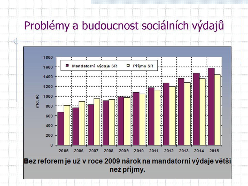 Problémy a budoucnost sociálních výdajů