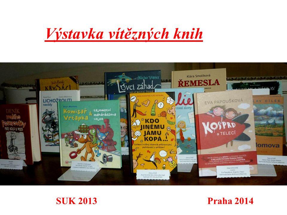 Výstavka vítězných knih SUK 2013 Praha 2014
