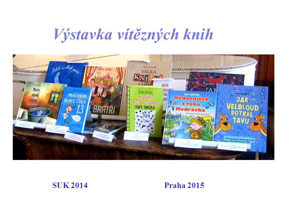 Výstavka vítězných knih SUK 2014 Praha 2015