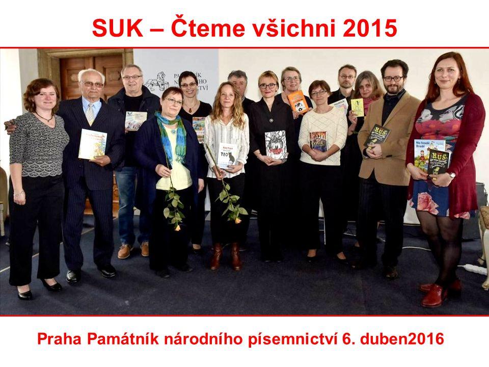 SUK – Čteme všichni 2015 Praha Památník národního písemnictví 6. duben2016