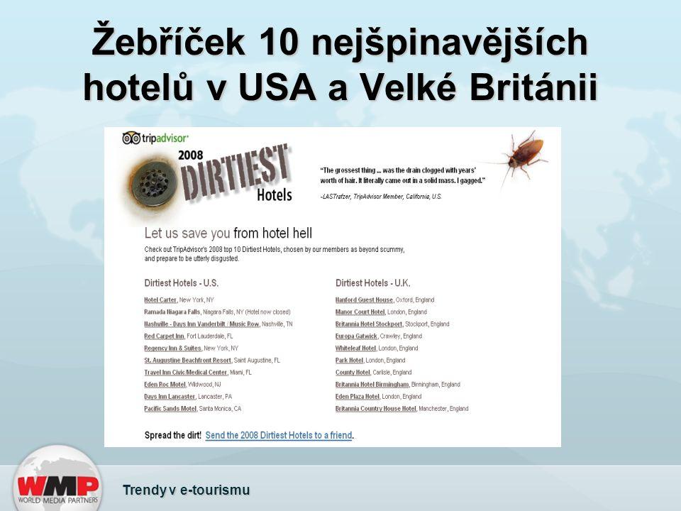 Žebříček 10 nejšpinavějších hotelů v USA a Velké Británii Trendy v e-tourismu