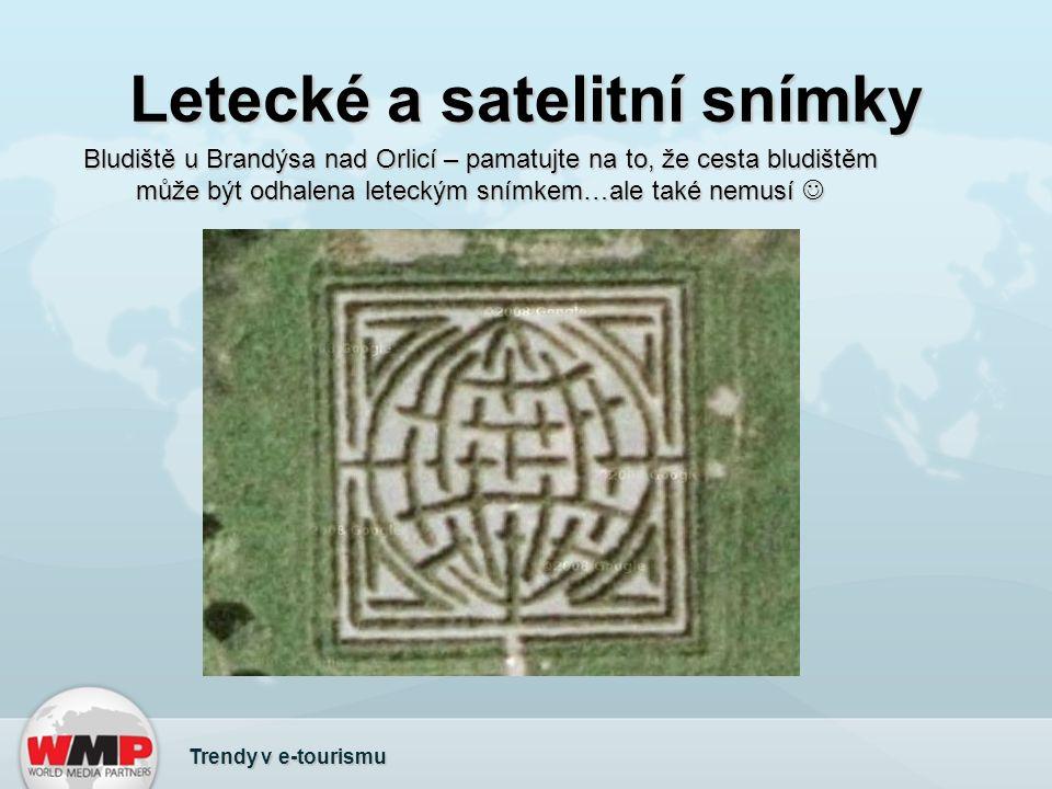 Letecké a satelitní snímky Bludiště u Brandýsa nad Orlicí – pamatujte na to, že cesta bludištěm může být odhalena leteckým snímkem…ale také nemusí Blu