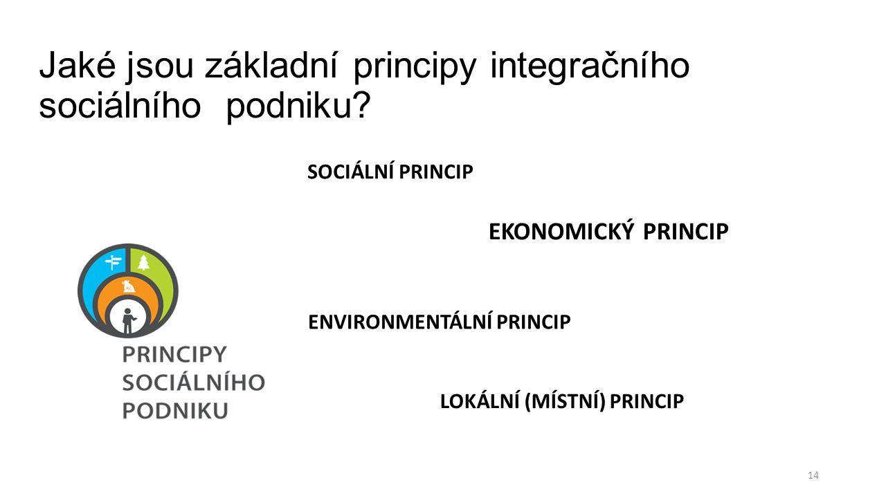 Jaké jsou základní principy integračního sociálního podniku.