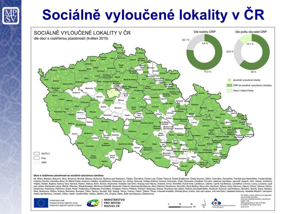 20 Sociálně vyloučené lokality v ČR