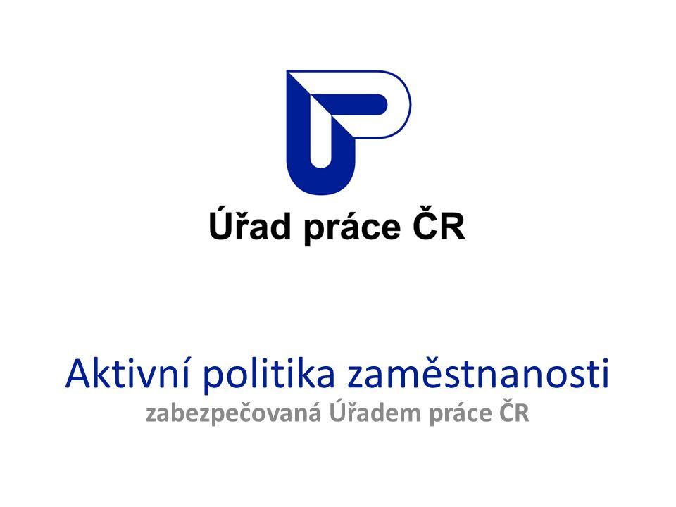 Aktivní politika zaměstnanosti zabezpečovaná Úřadem práce ČR