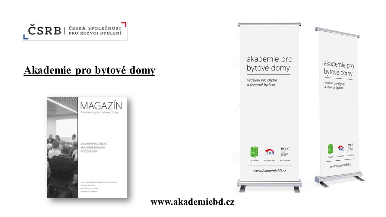 Akademie pro bytové domy www.akademiebd.cz