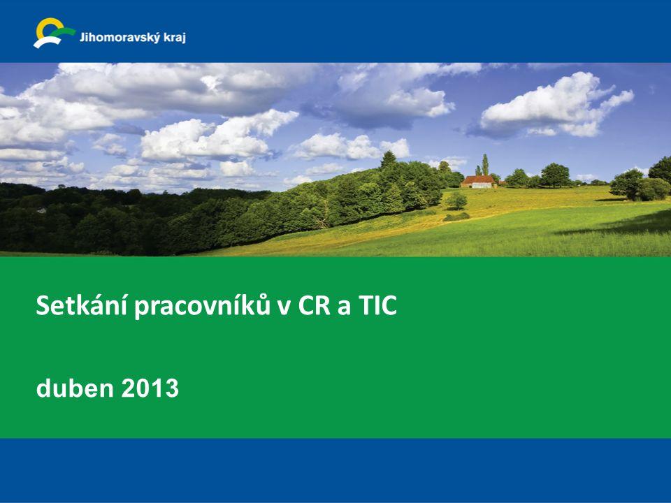 Setkání pracovníků v CR a TIC duben 2013