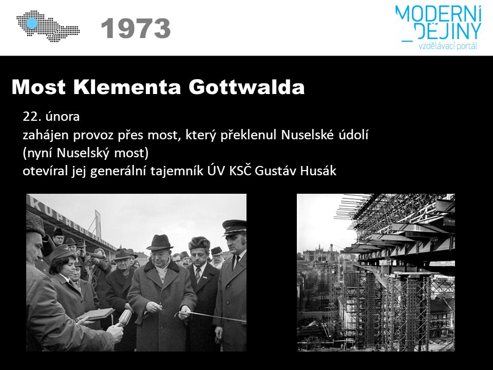 1973 Most Klementa Gottwalda 22.