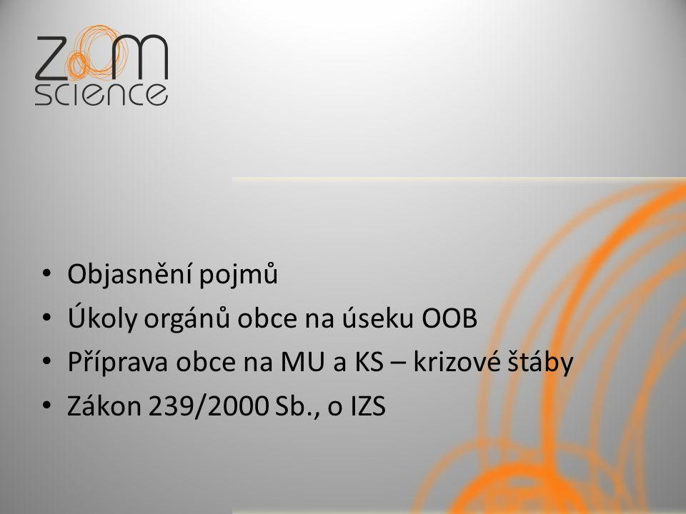 Prevence závažných havárií Zákon č.59/2006 Sb., o prevenci závažných havárií Vyhláška č.