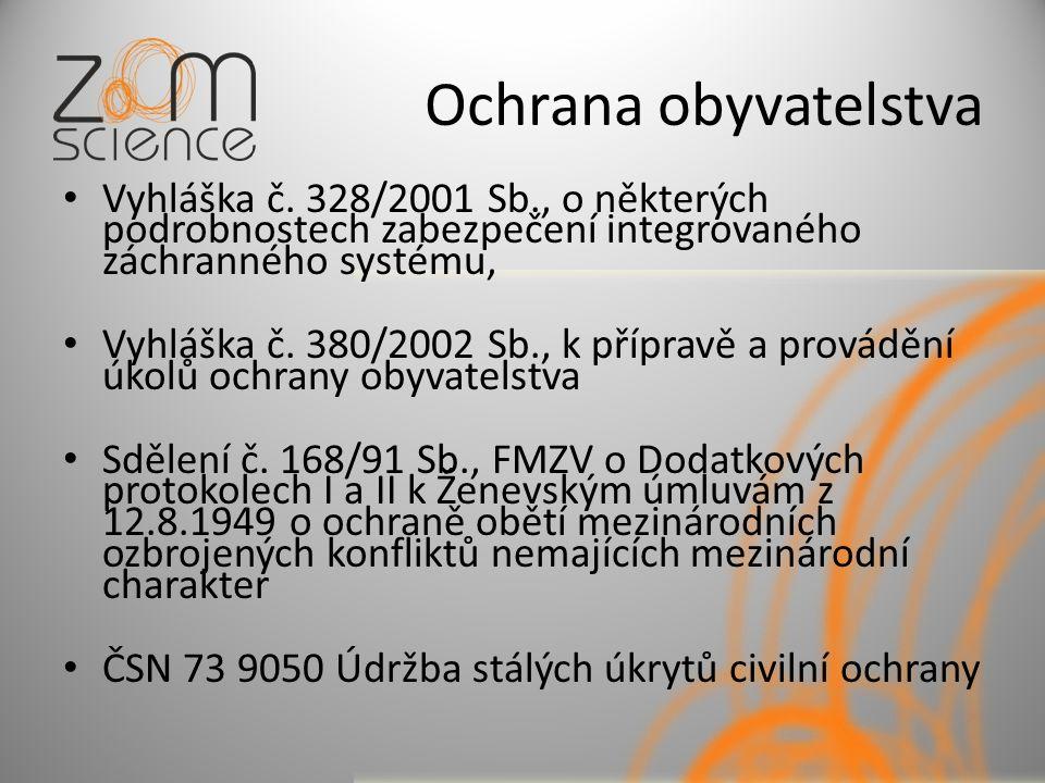 Ochrana obyvatelstva Vyhláška č.