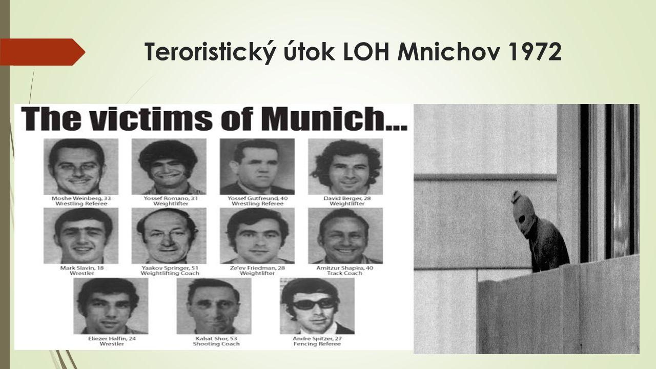 Teroristický útok LOH Mnichov 1972
