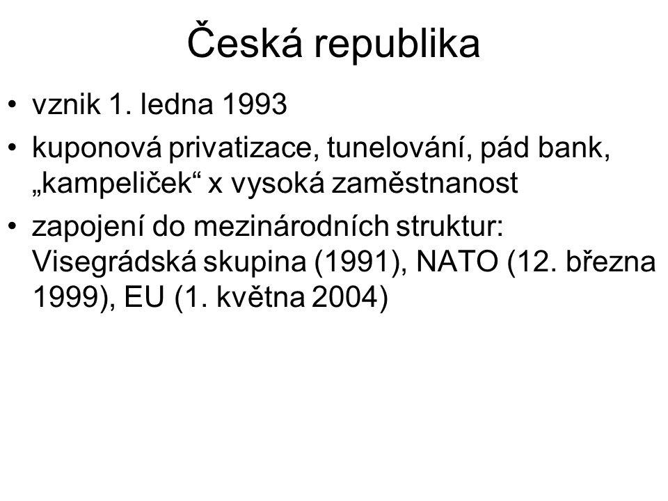 Česká republika vznik 1.